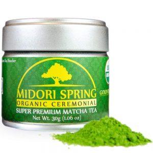 KENKO Matcha Green Tea Powder [USDA Organic] Ceremonial Grade - Japanese, Green, 30g (1oz)