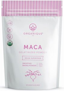 The Organique Co. Gelatinized Maca Powder