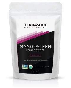 Terrasoul Superfoods Mangosteen Fruit Powder (Organic), 8 Ounces