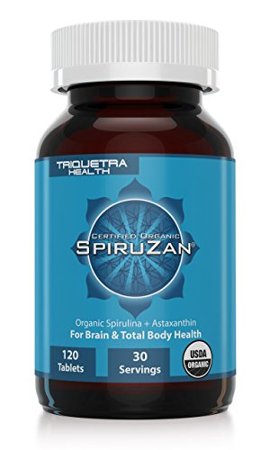 Organic Spirulina and Astaxanthin: Organic Spiruzan -The Purest and Most Bioavailable Source of Spirulina and Astaxanthin - Our Spirulina is Certified Organic by The USDA, Ecocert, OCIA & Naturland