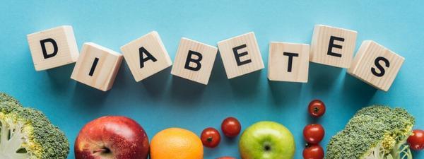 block letters spelling diabeties